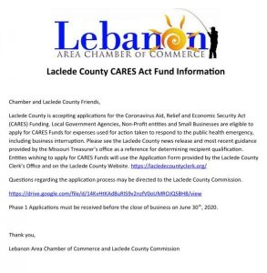 Laclede County CARES Act